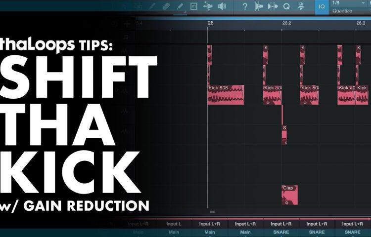 Shift your kick samples