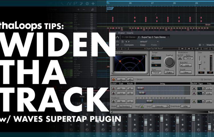 Make your tracks sound wider