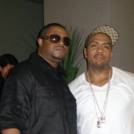 Larry Live and Timbaland