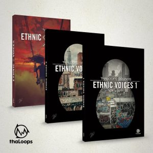 Ethnic Vocal Samples bundle collection.