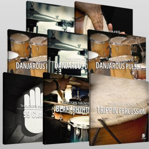 Hip Hop Drums Set