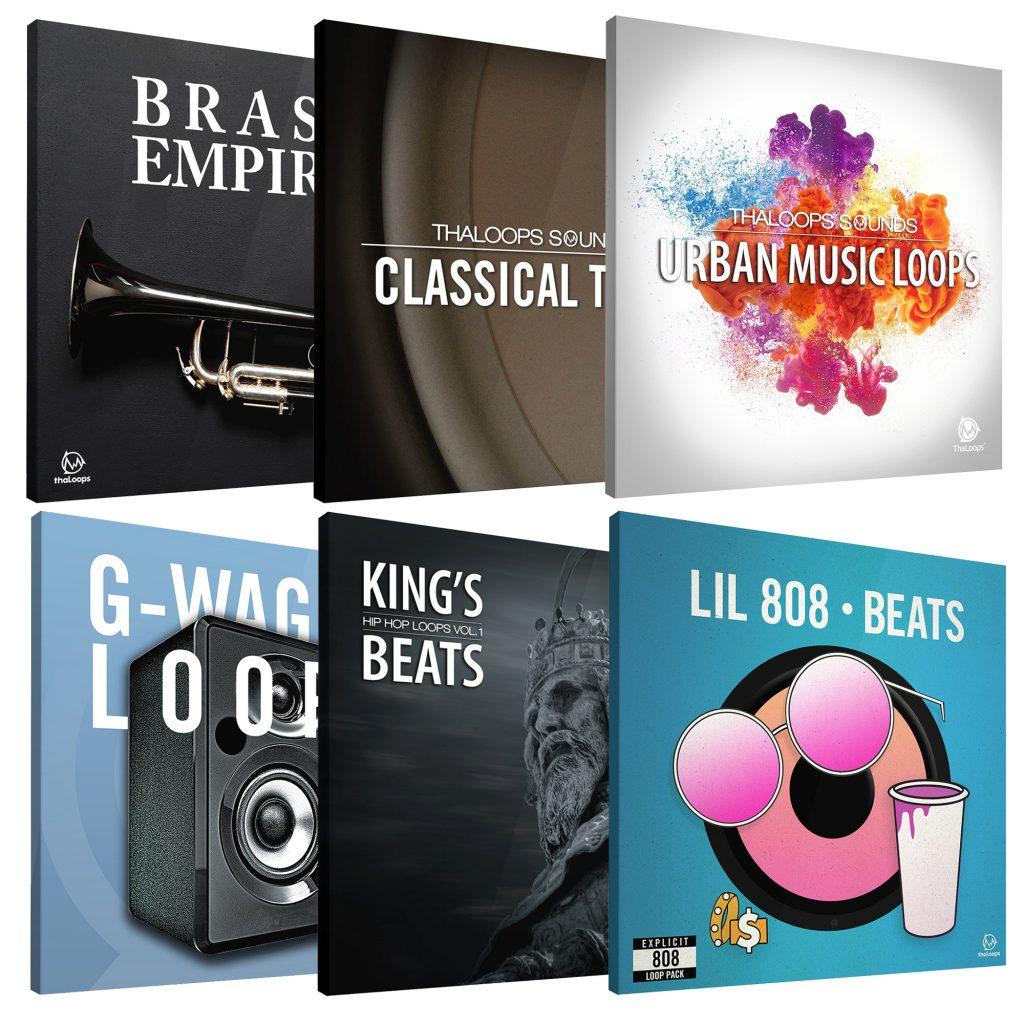 Hip Hop Producer Dream Sample Pack Set